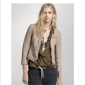 J. Crew Collection 100% Leather Moto Jacket8 S M